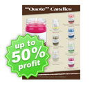 Quote Candle Fundraising