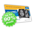 Free Portrait Fundraising Cards